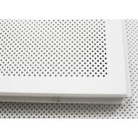 Wholesale Elegent Square perforated metal ceiling tiles Paint Coated And Soundproof from china suppliers