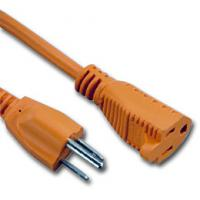Wholesale UL certificated 3 Prong US AC Power Cord Cable NEMA 5-15P/IEC320-C19 from china suppliers