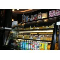 Wholesale 3 Layer Black Cake Display Cases Freezer 110v / 60hz 2000 * 730 * 1250 from china suppliers