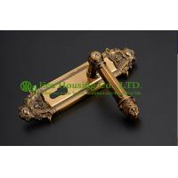 Wholesale Interior Door Lock, mortise lock and key for timber door,Antique Brass finish,Bedroom lock from china suppliers