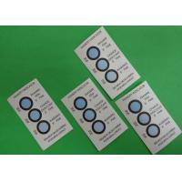 Buy cheap Reversible 3 Dots Humidity Indicating Cards Blotting Paper Ingredient For Bulk Packaging from wholesalers