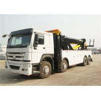 Wholesale 50T Road Wrecker Tow Truck 12 Wheels 8x4 371hp 50 tons Left / Right Hand Drive from china suppliers