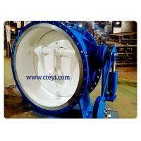 Wholesale DN1400 / PN16 Carbon Steel Flanged Check Valve Flanged Butterfly Check Valve from china suppliers