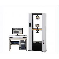 Wholesale Tensile Universal Testing Machine / Strength Testing Machine For Leather Rubber Plastic from china suppliers