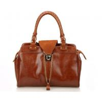 Wholesale fancy vintage cow leather women's handbag welcome for European markets from china suppliers