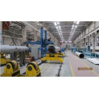 Buy cheap Pipe bending and welding machine Bent pipe- Flange automatic welding system from wholesalers