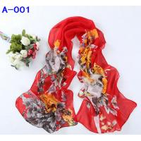 Wholesale Beautiful Scarf A-001 www.excellentsilk.com from china suppliers