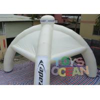 Wholesale Spider Advertising Project Inflatable Dome Tent With Interchangeable Velcro Banner from china suppliers