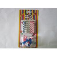 Wholesale 20 Pcs Magical Happy Birthday Candle Dia 0.2 Inch Fun Trick Cake Joke from china suppliers