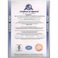 Infinity Machine International Inc. Certifications