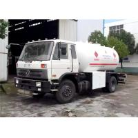 Wholesale Dongfeng 4x2 Bobtail LPG Truck 10M3 5 Tons 10000L 5T LPG Filling Trucks from china suppliers