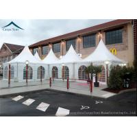 Wholesale Water Resistant Pagoda Tents Western Style With Clear Windows from china suppliers