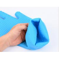 Wholesale BBQ Grill Oven Mitt Rubber Oven Gloves , Silicone Gloves For Cooking , Washing from china suppliers
