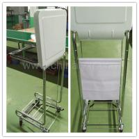 Wholesale Square Tilt-Lid Chrome Hamper/medical hamper stand/LY-FS from china suppliers