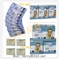 Buy cheap 30pcs Glasses cleaning wet wipes from wholesalers