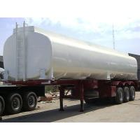 Wholesale 40000L-3 axles-Skeleton Monoblock Tanker Semi-Trailer,Concave Trailer from china suppliers