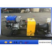 Wholesale Line Construction Honda Gas Powered Winch 9HP Easy To Operate from china suppliers