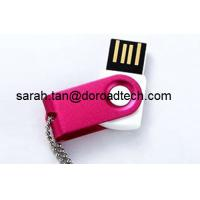 Wholesale Customized Metal Rotated USB Flash Drives 128MB to 32GB from china suppliers