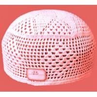 Wholesale muslim pure cotton crochet cap-18B from china suppliers