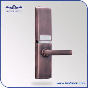 Buy cheap CHINA Biometric Door Lock Factory -BENDERLY Fingerprint Password Card Key Lock from wholesalers