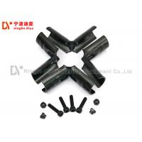 China High quality lean pipe black joint/connector for 28mm rack system HJ-5 on sale