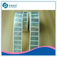 Wholesale Self Adhesive Hologram Label Sticker In Roll  ,   Custom Roll Hologram Stickers from china suppliers
