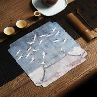 China Customized china placemats, Tea table mat,Coffee table mat,Two tone Suede placemats on sale