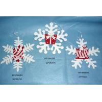 Wholesale Wooden Christmas Hanging Snowflake Decoration, home decoration christmas & holiday gifts from china suppliers