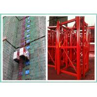Wholesale Rack & Pinion Construction Material Lifting Equipment With Single Cag / Double Cage from china suppliers