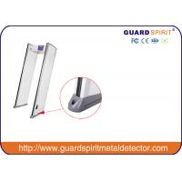 Wholesale Full Body 6 Zones Security Walk Through Gate , 255 Degree Sensitivity Level from china suppliers