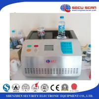 Wholesale Benchtop Bottle Liquid Scanner Explosive Detection System AT1000 visual alarm from china suppliers