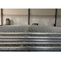 "Wholesale tubing 1¼""(32mm) x 1.4mm thick temporary chain wire fence mesh spacing 2½""x2½""(63mmx63mm) 8ft x 12ft construction fence from china suppliers"