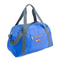 Wholesale 600D Blue Suitcase Luggage Sports Travel Bags With Two Shoulder Strap from china suppliers