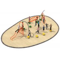 Buy cheap 780*300*250cm Luxury Design Rope Climbing Structure Playground Environmental from wholesalers