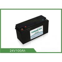 Wholesale 24V 100AH Lithium Iron Phosphate Deep Cycle Battery OEM Acceptable from china suppliers