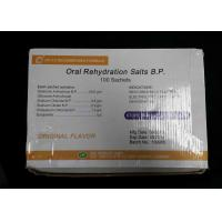 Wholesale Oral Rehydration Salts 30gm Pharmaceutical Medicines 100 sachets / box from china suppliers