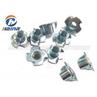 Wholesale Plain Finish Zinc Plated Tee Stainless Steel Nuts Four Claws Nut 731816 HS Code from china suppliers