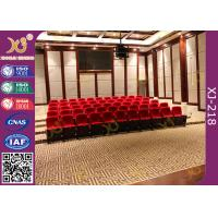 Wholesale Polyurethane Foam Soft Padded Lecture Hall Seating Gravity Return Mechanism from china suppliers