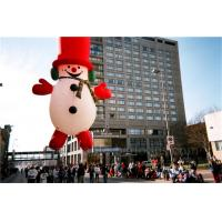 Wholesale Helium Inflatable Cartoon Characters Heat Sealing Giant Inflatable Snowman from china suppliers