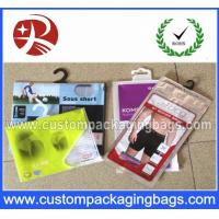 Wholesale Printed Plastic Garment Hanger Bags Packing Clothes With Bottom Gusset from china suppliers