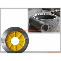 Wholesale Anti Abrasion Electric Slurry Pump Spare Parts High Chrome Alloy / Rubber Material from china suppliers