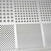 Wholesale Stainless Steel Perforated Sheet Metal, 304/316/410, 0.8 to 10mm Hole Diameter, 0.1-4mm Thickness from china suppliers