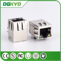 Wholesale single Port 10 / 100 base RJ45 with Transformer Female connector Modules from china suppliers
