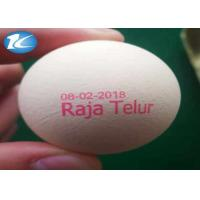 Wholesale Expiry Date Egg Printing Machine With Pink / Blue / Green Color Ink from china suppliers