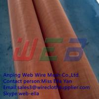Wholesale Red copper wire mesh (Anping Manufacturer) from china suppliers