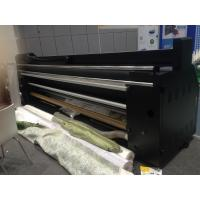 Quality Digital Sublimation / Pigment / Reactive Textile Cmyk Printing Machine Roll To Roll for sale