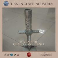 Wholesale Q235 Steel Electro - galvanized Adjustable Jack Base For Scaffolding from china suppliers