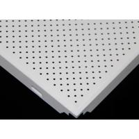 Wholesale 300 × 300mm perforated metal ceiling panels , architectural perforated metal panels from china suppliers