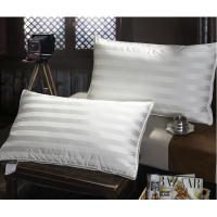 Buy cheap Quliting Down And Feather Pillows Cotton 2CM Stripe Lining White from wholesalers