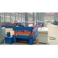 Wholesale Normal Roofing Sheet Roll Forming Machine With Double Chains Drive 0.3mm - 0.8mm from china suppliers